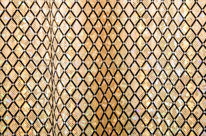 Pattern/Abstract Hologram (Gold/Silver/Black)