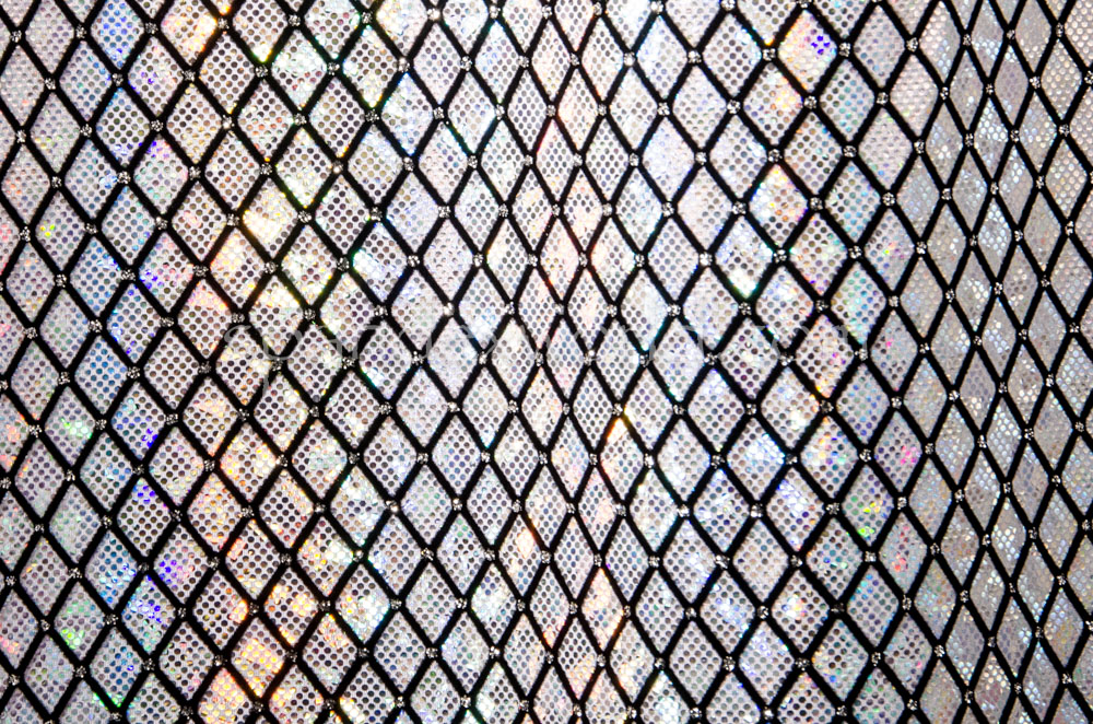 Pattern/Abstract Hologram (White/Silver/Black)