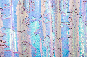 Reflective Reversible  Sequins (Fire Blue/Aqua/Pearl)