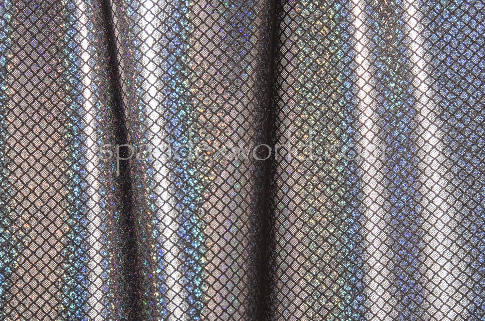 Pattern Abstract Hologram (Black/Silver Holo)