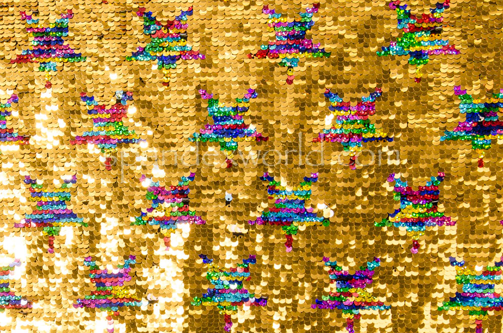 Reflective Reversible  Star Sequins (Gold/Silver/Aqua/Pearl)