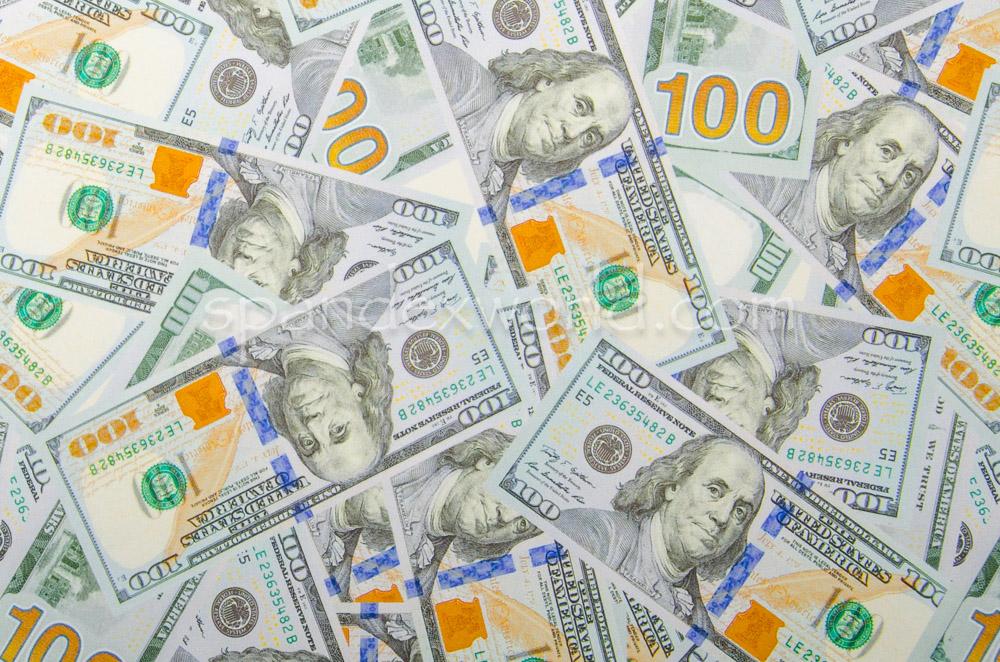 Printed Spandex (U.S Dollar  prints)
