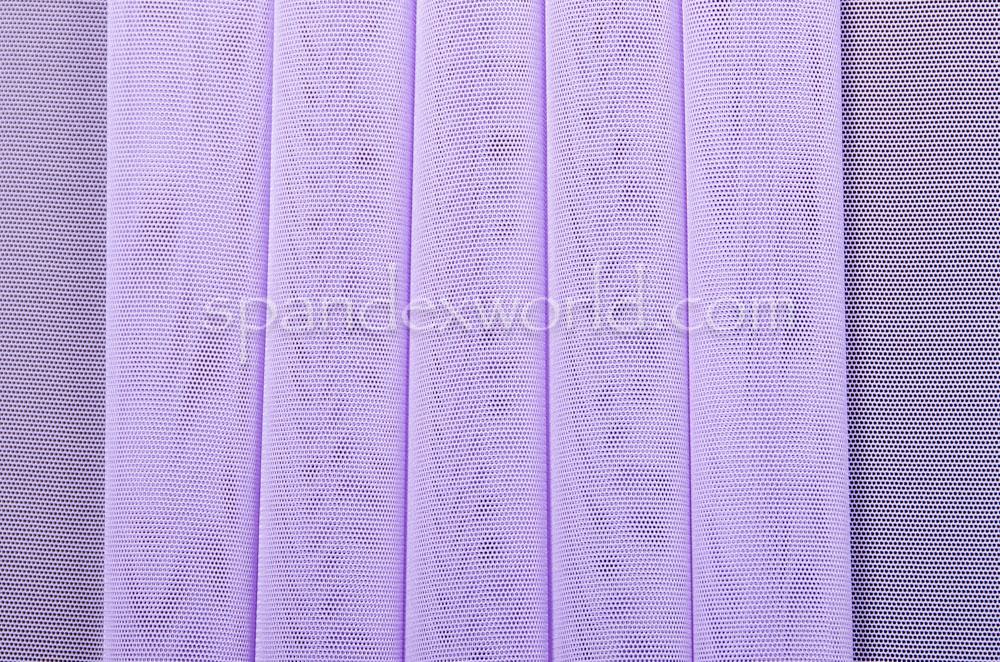 Stretch Solid Mesh (Lavender)