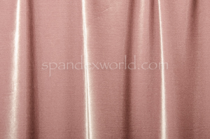 4 Way Stretch Solid Velvet (Mauve)