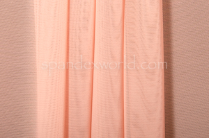 Stretch Solid Mesh (Blush)