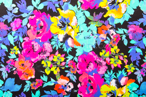 Floral Prints (Fuchsia/Teal/Lime/Multi)