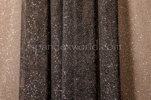 Glitter/Pattern Mesh (Black/Silver)