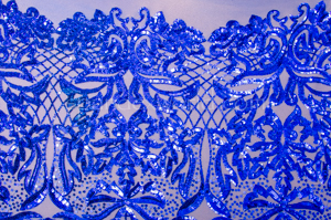 Stretch Sequins (Royal Blue/ Royal Blue)