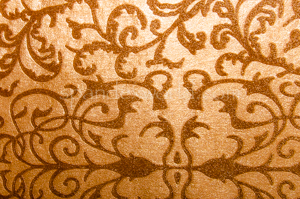 Embossed Velvet (Gold/Gold Sheer)