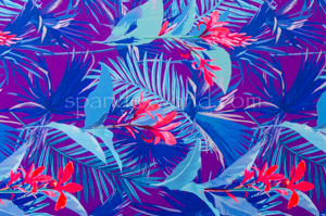 Floral Print (Purple/Blue/Multi)