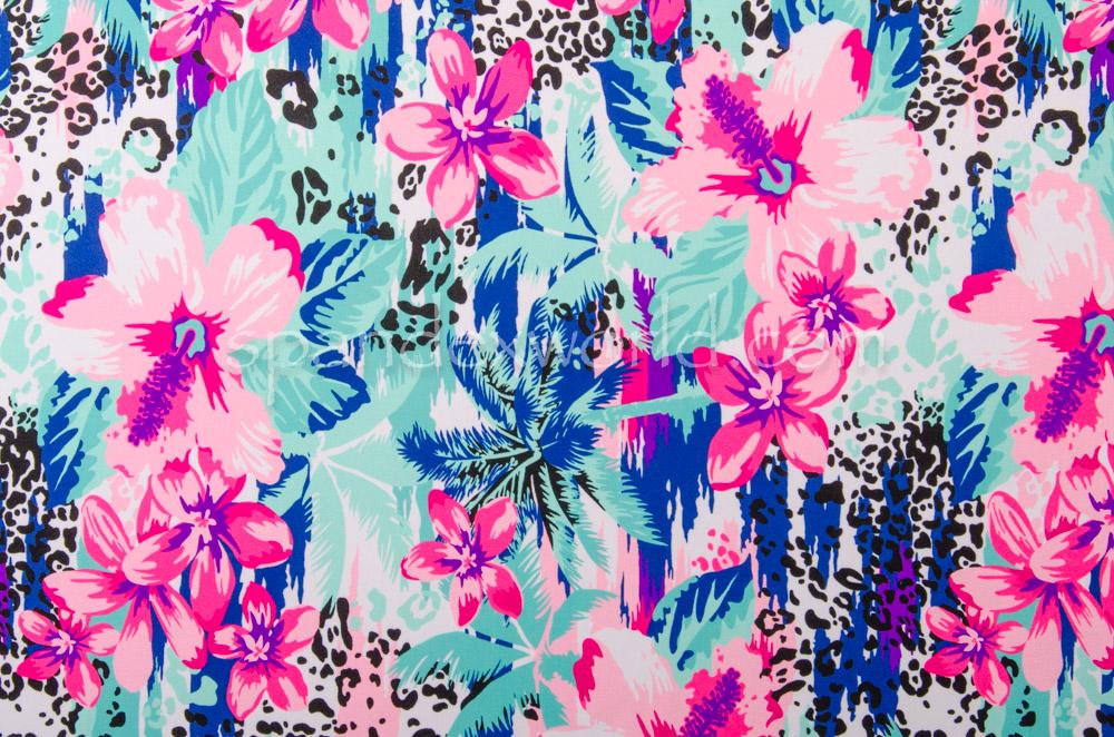Floral Print (Pink/Green/Multi)