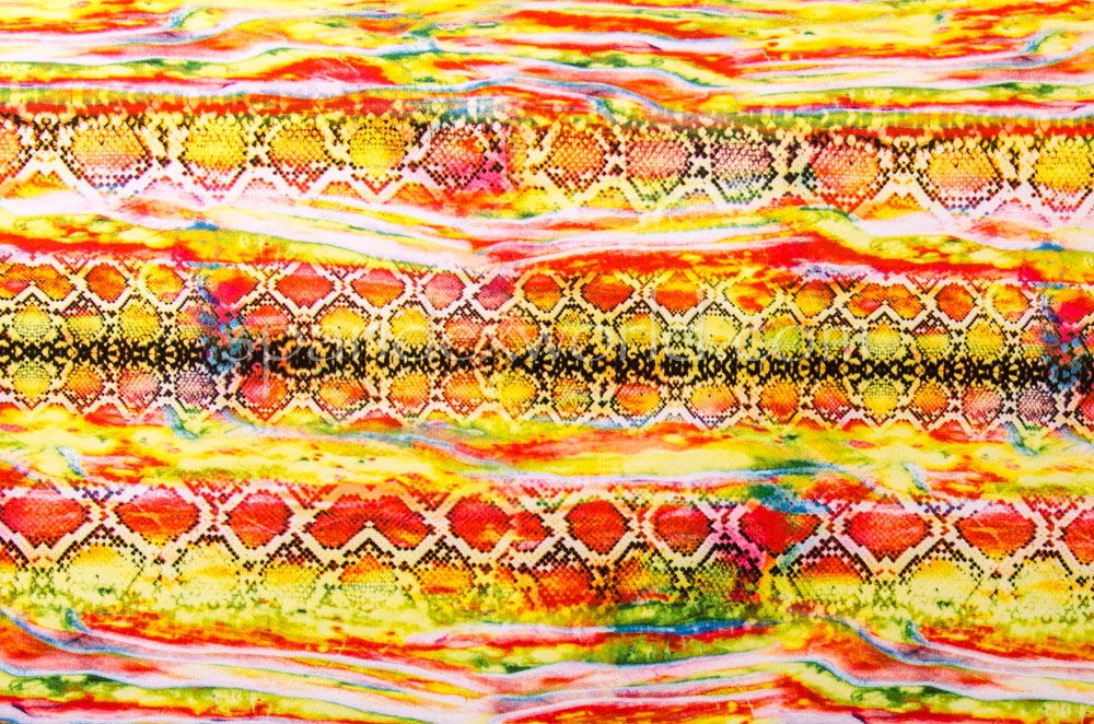 Snake  Prints (Yellow/Brown/Multi)