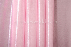 Metallic Micro Mesh (Taffy/Baby Pink)