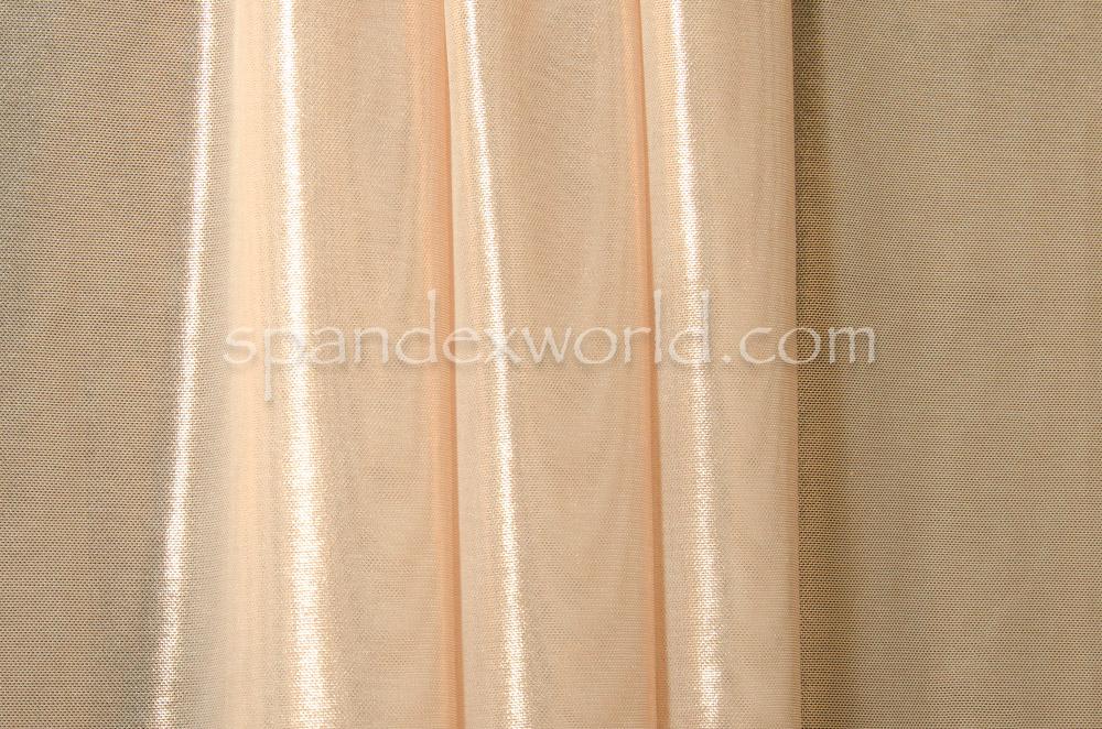 Metallic Micro Mesh (Blush/Rose Gold)