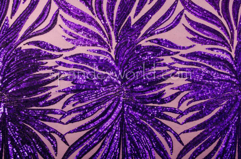 Stretch Sequins (Purple/ Purple)