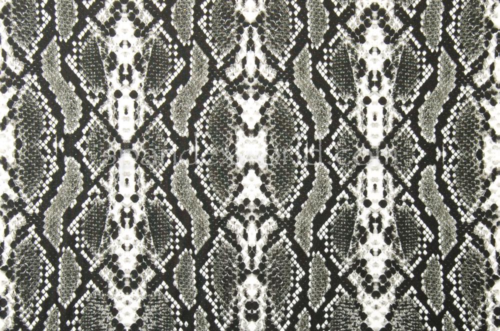Snake Prints (Black/White/Ash)