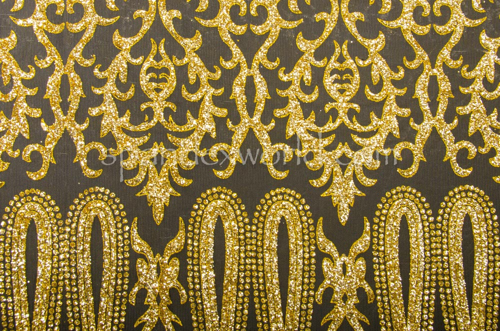 Cracked Ice Lace (Gold/Gold)