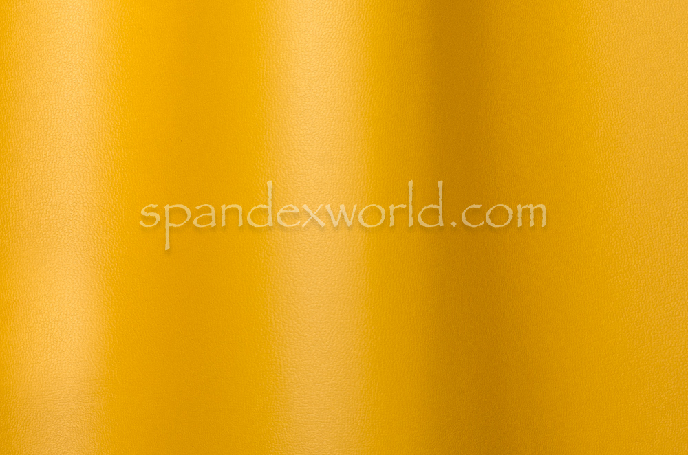Non-Stretch Faux Leather (Daffodil Yellow)
