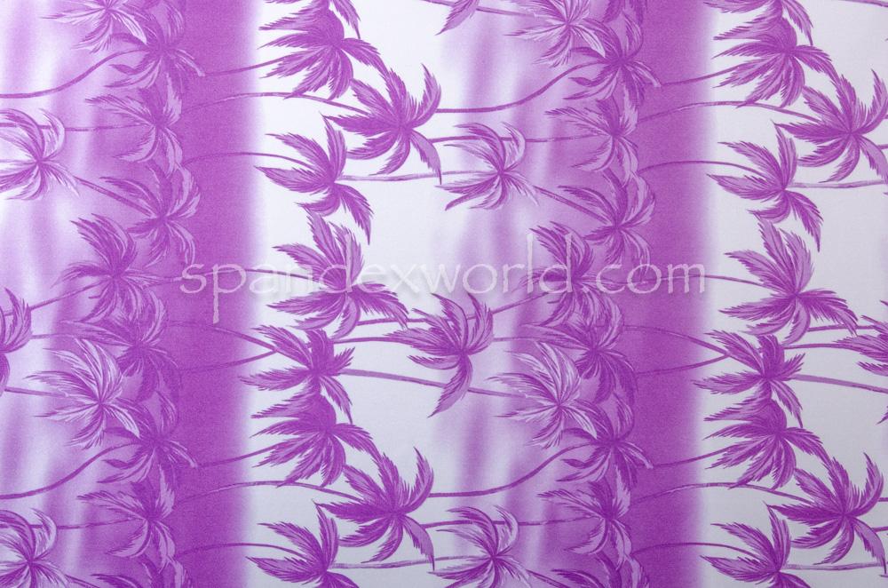 Printed Spandex (Purple)