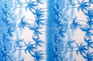 Printed Spandex (Blue)