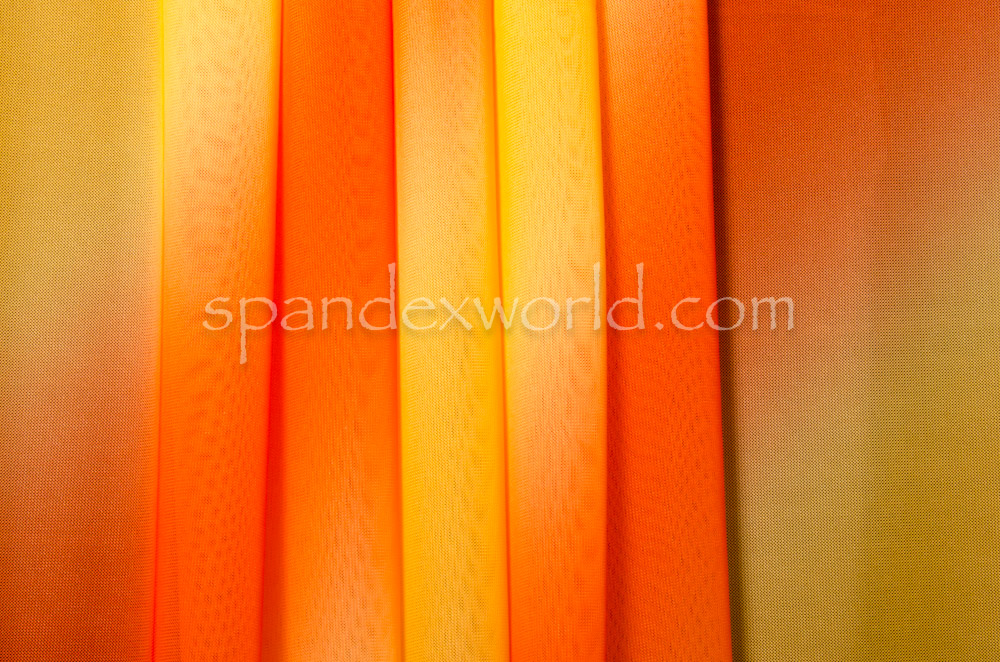Ombre Mesh (Yellow/Orange)