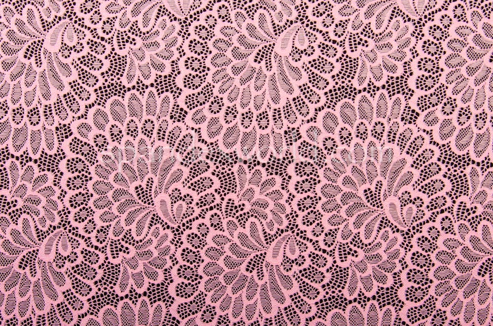 Stretch Lace (Pink)