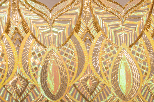 Stretch Sequins (Yellow/Gold/Irid Yellow)