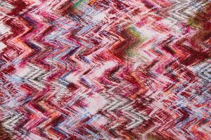 Aztec Print Spandex (Pink/Burgundy/Multi)
