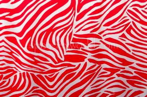 Animal Prints (White/Red)