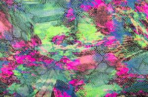 Snake Print (Neon Green/Fuchsia/Multi)