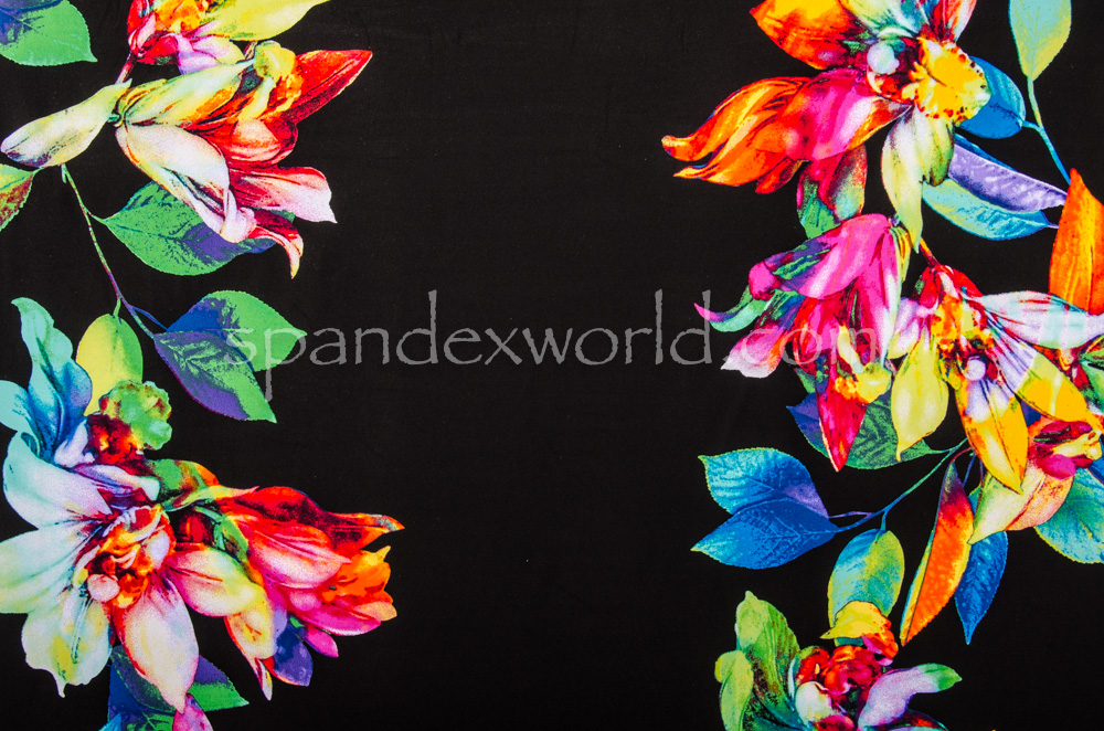 Floral Print (Green/Blue/Multi)