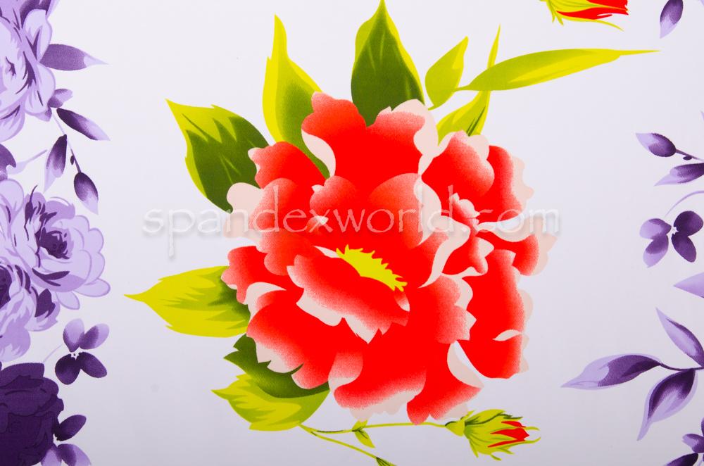 Floral Print (White/Orange/Multi)