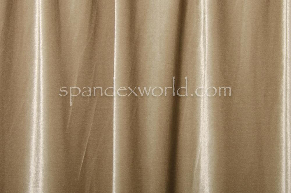 Stretch solid Velvet (Light Gold)