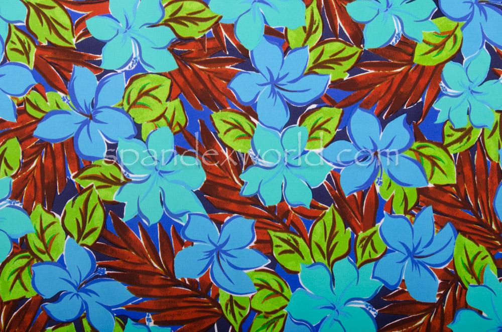 Floral Print  (Brown/Blue/Multi)