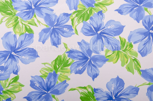 Floral Print  (White/Green/Blue)