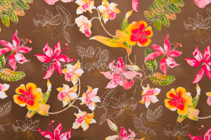 Floral Print  (Brown/Yellow/Multi)