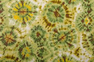 Tie dye spandex (Green/Dark Brown/Multi)