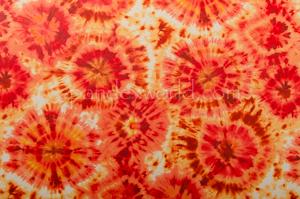 Tie dye spandex (Orange/Yellow/Multi)