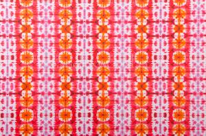 Tie dye spandex (Fuchsia/White/Multi)