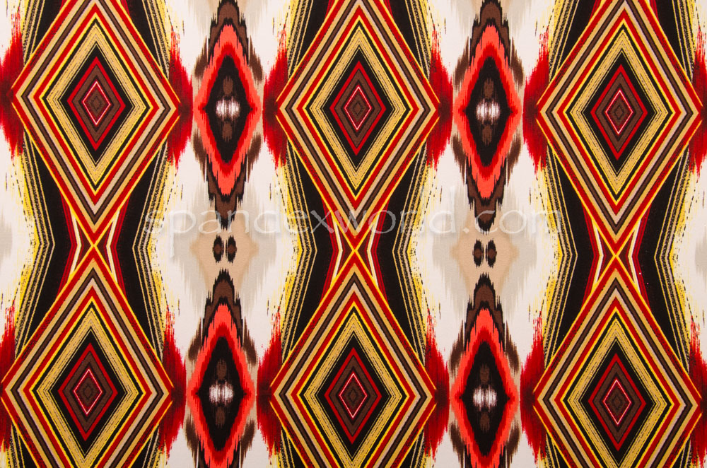 Abstract Prints (Red/Burgundy/Multi)