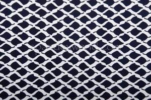 Abstract Print Spandex (Black/White)