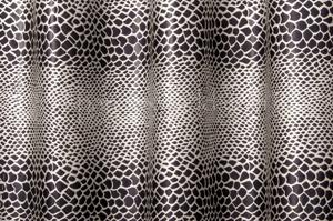 Animal Print Hologram  (Black/Silver)