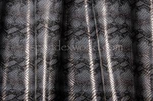 Snake Print Hologram (Black/Gray)