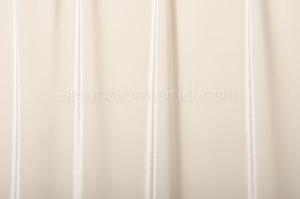 Stretch Solid Velvet (Ivory)