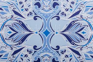 Paisley Print (White/Blue/Multi)