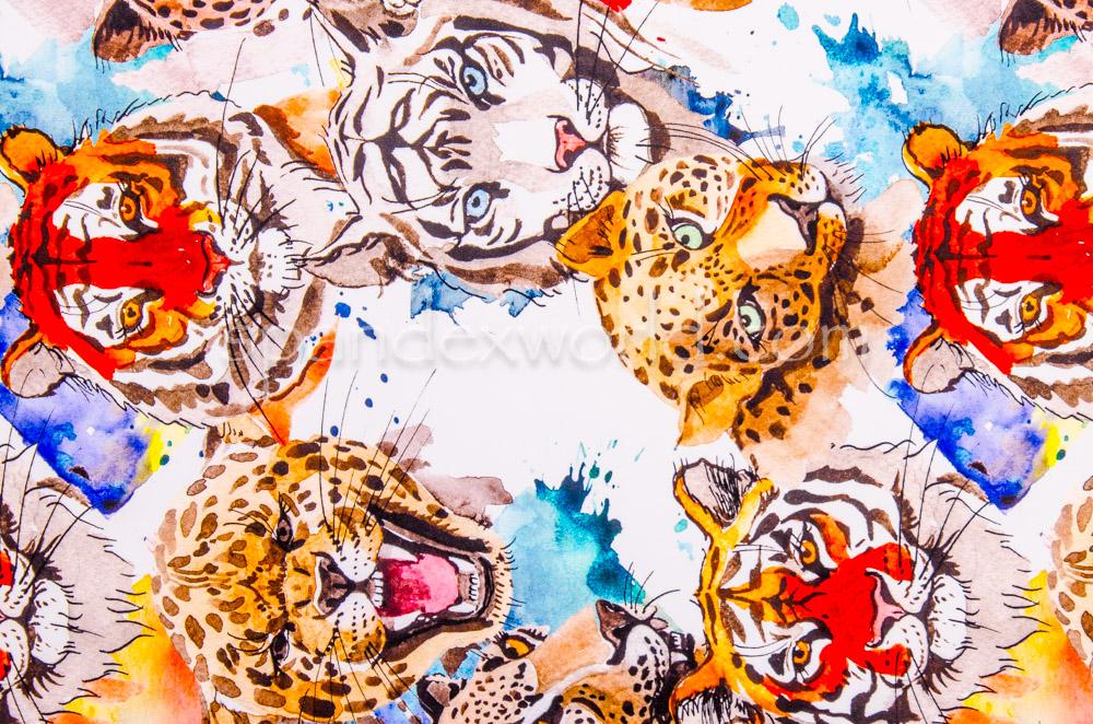 Animal Print (White/Orange/Multi)