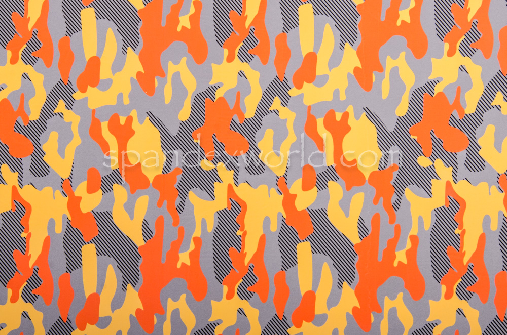 Printed Camouflage (Yellow/Orange/Multi)