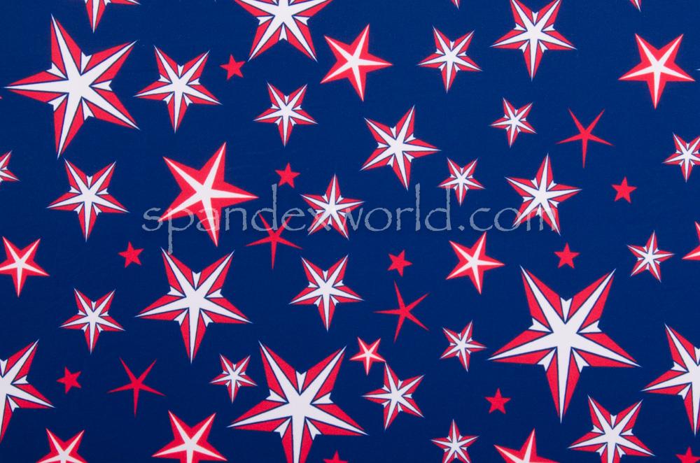 Printed Stars (Royal/Red/White)