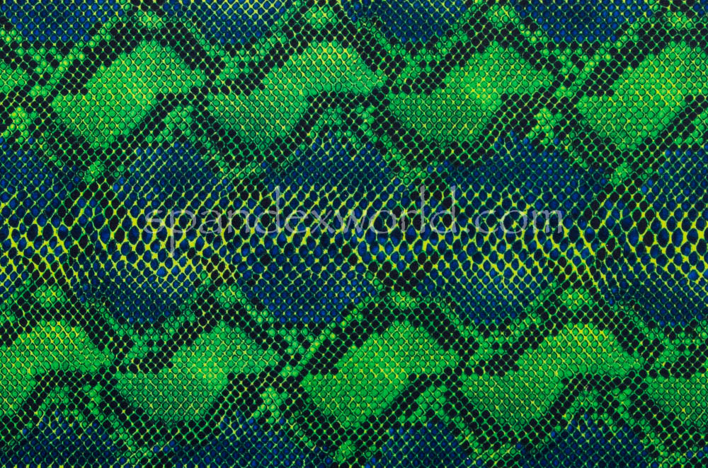 Snake Prints (Blue/Green/Multi)