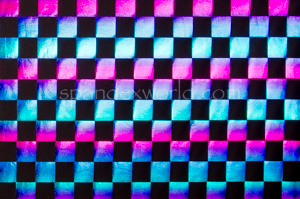 Pattern/Abstract Hologram (Blue/Purple Ombre)